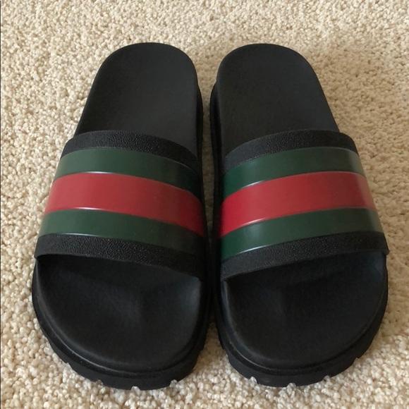 eaf287cc0521 Gucci Shoes - Gucci Slides Men s 5